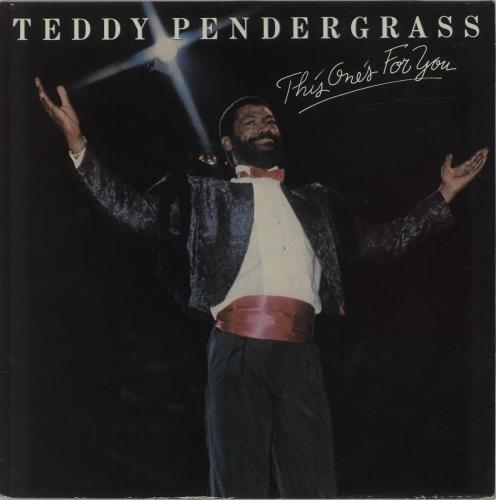 Teddy Pendergrass This One's For You vinyl LP album (LP record) UK PNGLPTH686925