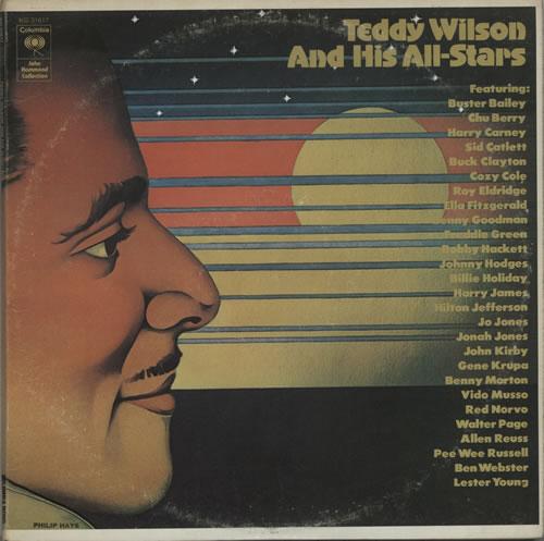 Teddy Wilson Teddy Wilson And His All-Stars 2-LP vinyl record set (Double Album) US TW02LTE584016
