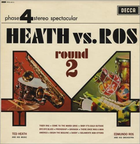 Ted Heath Heath Vs. Ros - Round 2 vinyl LP album (LP record) UK HE3LPHE384817