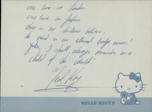 Ted Kay Page From An Autograph Book memorabilia UK WGHMMPA609010