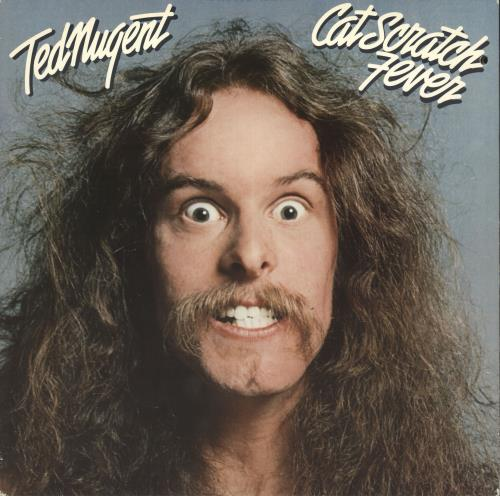 Ted Nugent Cat Scratch Fever - Deletion hole vinyl LP album (LP record) UK TEDLPCA733976