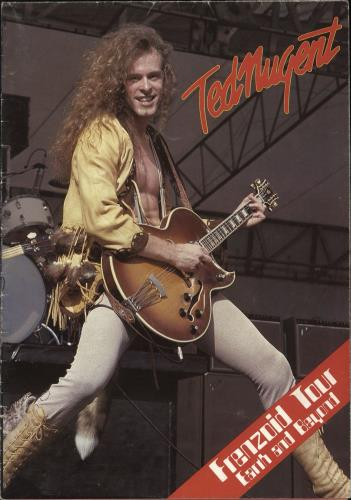 Ted Nugent Frenzoid Tour - EX tour programme UK TEDTRFR717889
