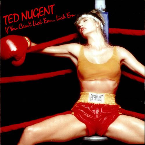 Ted Nugent If You Can T Lick Em Lick Em German Vinyl