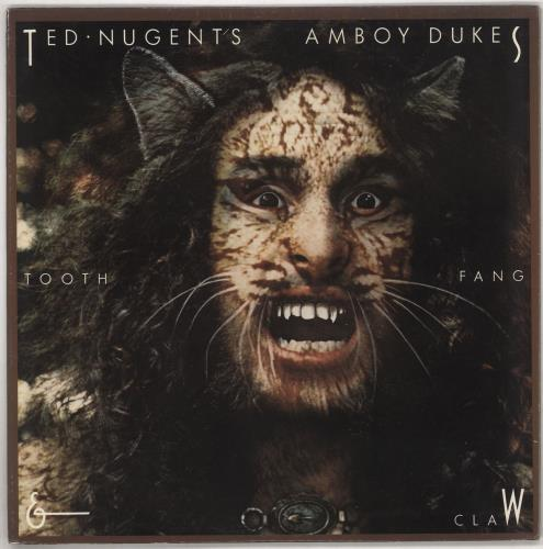 Ted Nugent Tooth, Fang & Claw vinyl LP album (LP record) US TEDLPTO738655