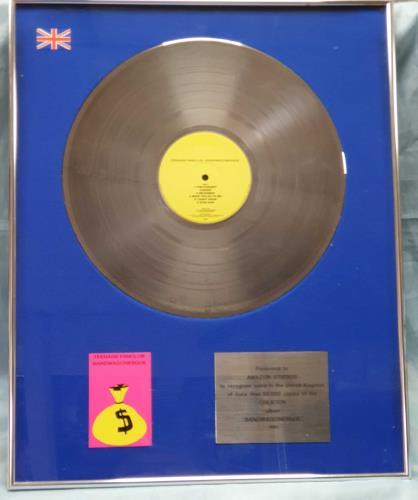 Teenage Fanclub Bandwagonesque award disc UK TFCAWBA746885