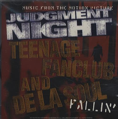 "Teenage Fanclub Fallin' CD single (CD5 / 5"") US TFCC5FA341407"