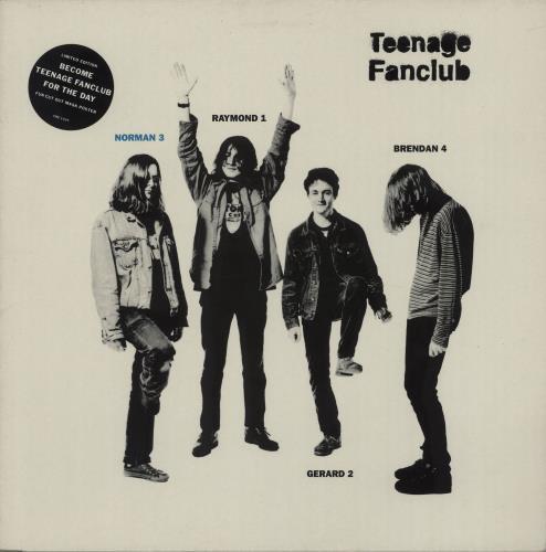 "Teenage Fanclub Norman 3 + Poster - EX 12"" vinyl single (12 inch record / Maxi-single) UK TFC12NO664542"