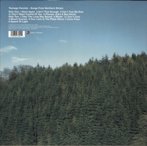 "Teenage Fanclub Songs From Northern Britain - 180gm Vinyl + Bonus 7"" vinyl LP album (LP record) UK TFCLPSO766666"