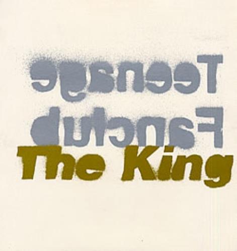Teenage Fanclub The King vinyl LP album (LP record) UK TFCLPTH64252