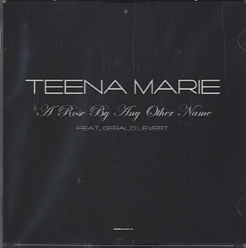 Teena Marie A Rose By Any Other Name US Promo CD single (CD5 / 5