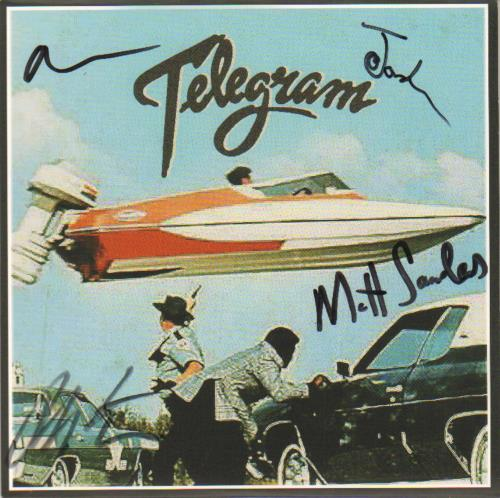 Telegram Taffy Come Home - Autographed UK 7