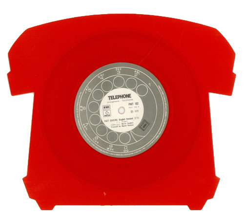 Best Buy Imports >> Telephone Fait Divers (English Version) French shaped picture disc (picture disc vinyl record ...