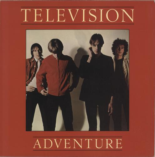 Television Adventure - Red Vinyl - EX vinyl LP album (LP record) UK TLVLPAD684361