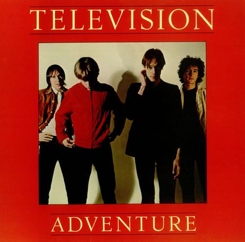 Television Adventure - Red Vinyl vinyl LP album (LP record) UK TLVLPAD158740