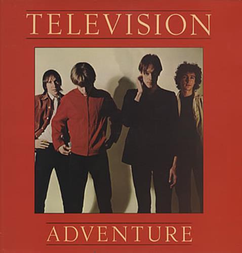 Television Adventure vinyl LP album (LP record) UK TLVLPAD314459