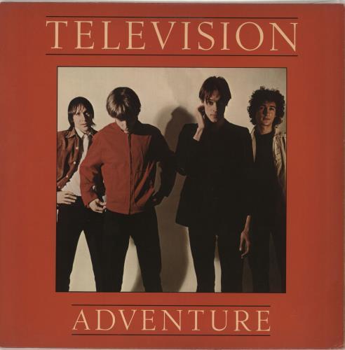 Television Adventure vinyl LP album (LP record) US TLVLPAD683701