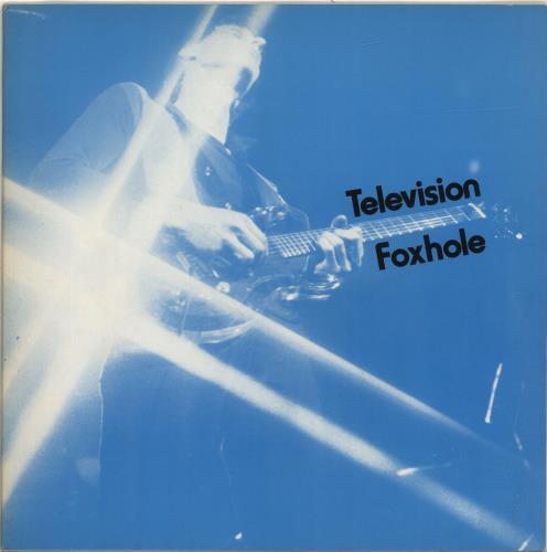 "Television Foxhole - Red Vinyl + Blue Sleeve 12"" vinyl single (12 inch record / Maxi-single) UK TLV12FO170311"
