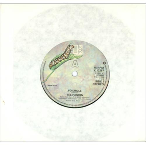"Television Foxhole 7"" vinyl single (7 inch record) UK TLV07FO423499"