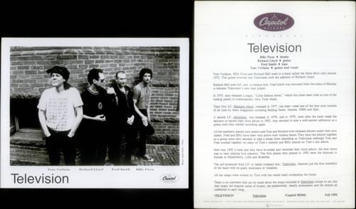 Television Television media press pack US TLVPPTE549370