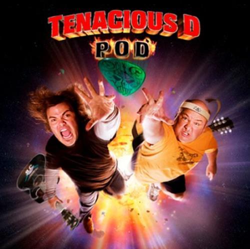 "Tenacious D POD CD single (CD5 / 5"") UK TIDC5PO378790"