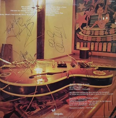Ten Years After A Space In Time - 1st - Autographed vinyl LP album (LP record) UK TYALPAS697900