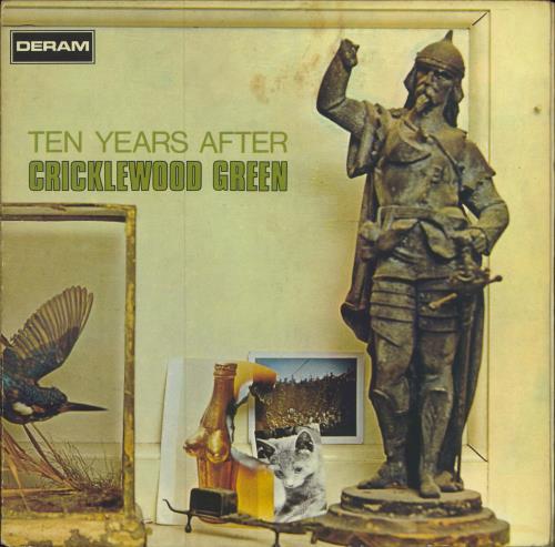 Ten Years After Cricklewood Green - VG vinyl LP album (LP record) UK TYALPCR582192