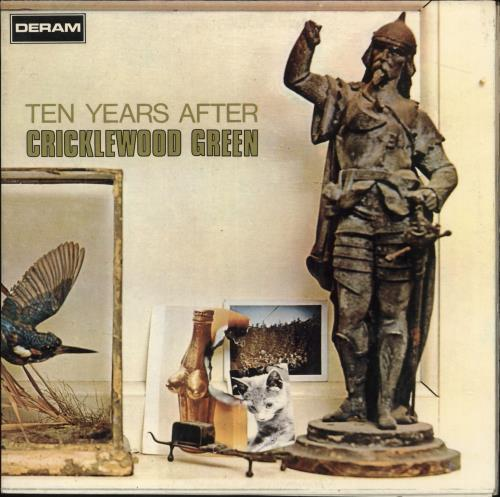 Ten Years After Cricklewood Green vinyl LP album (LP record) Italian TYALPCR727117