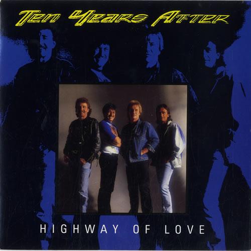 """Ten Years After Highway Of Love 7"""" vinyl single (7 inch record) UK TYA07HI598348"""