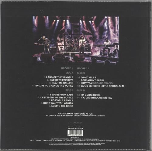 Ten Years After Naturally Live - 180 Gram Silver Vinyl 2-LP vinyl record set (Double Album) Dutch TYA2LNA729464