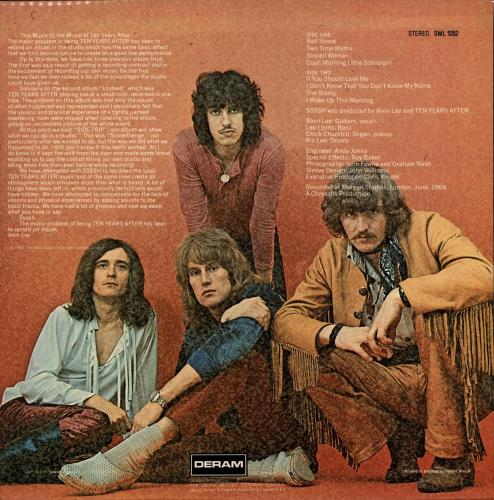 Ten Years After Ssssh! vinyl LP album (LP record) UK TYALPSS693829