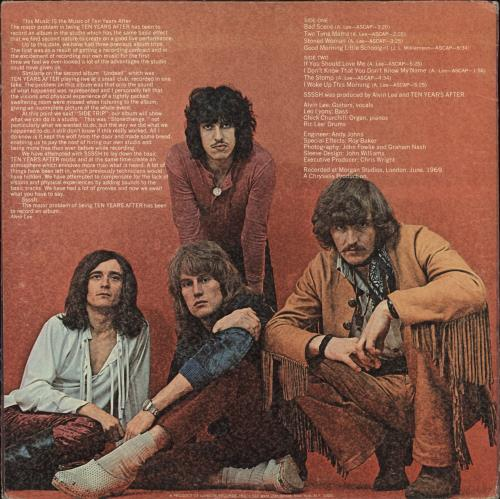 Ten Years After Ssssh vinyl LP album (LP record) US TYALPSS711161