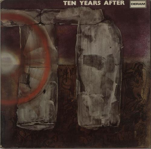 Ten Years After Stonedhenge - 1st - VG+ vinyl LP album (LP record) UK TYALPST683204