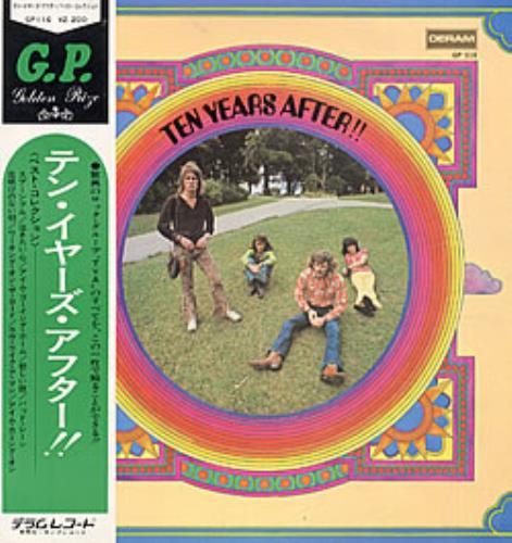 Ten Years After Ten Years After vinyl LP album (LP record) Japanese TYALPTE181465
