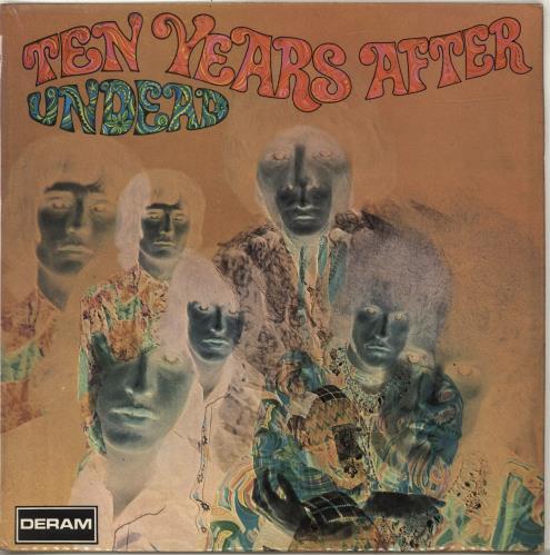Ten Years After Undead - 1st vinyl LP album (LP record) UK TYALPUN68391