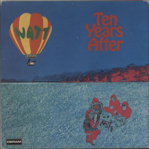 Ten Years After Watt vinyl LP album (LP record) UK TYALPWA661399