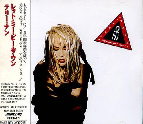 Terri Nunn Moment Of Truth CD album (CDLP) Japanese NUNCDMO289030