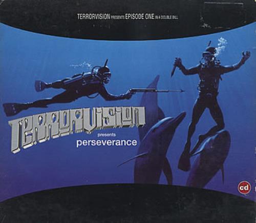 "Terrorvision Perseverance - Part 1 Digipak CD single (CD5 / 5"") UK TVSC5PE60846"