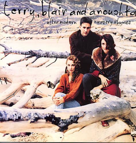Terry, Blair and Anouchka Ultra Modern Nursery Rhymes vinyl LP album (LP record) UK TRRLPUL143116