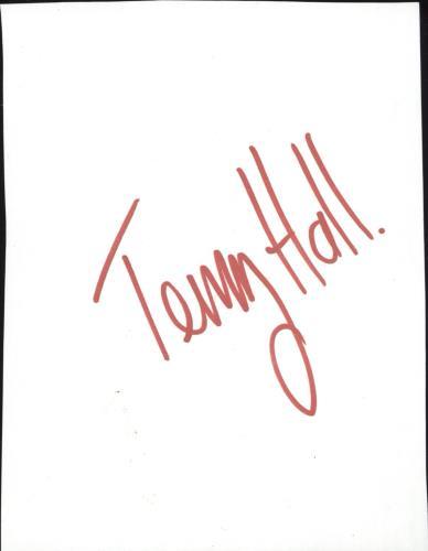 Terry Hall Autograph memorabilia UK TRLMMAU722210