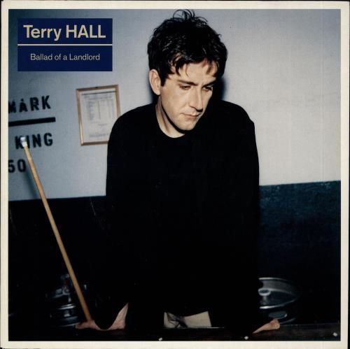 "Terry Hall Ballad Of A Landlord 7"" vinyl single (7 inch record) UK TRL07BA182418"