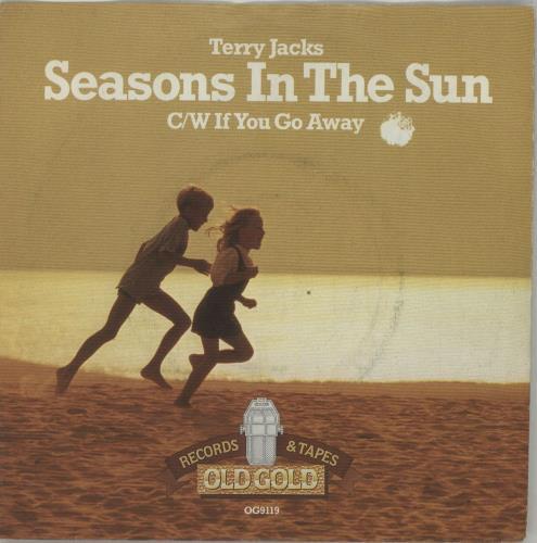 "Terry Jacks Seasons In The Sun - P/s 7"" vinyl single (7 inch record) UK TJ-07SE647344"