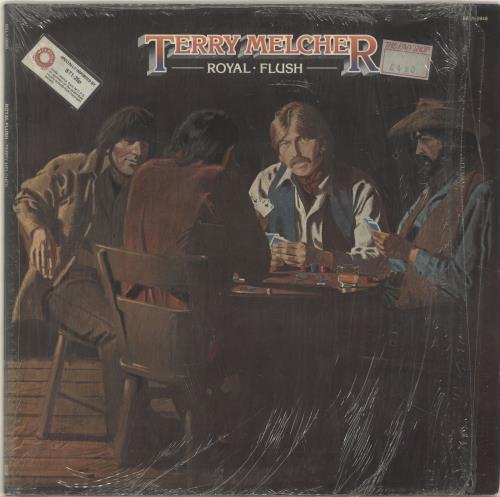 Terry Melcher Royal Flush vinyl LP album (LP record) US YMELPRO698574