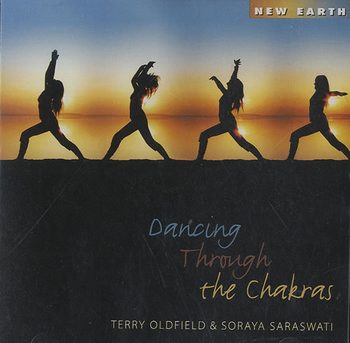 Terry Oldfield Dancing Through The Chakras CD album (CDLP) US T63CDDA494032