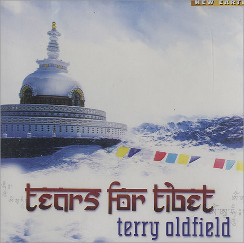 Terry Oldfield Tears For Tibet CD album (CDLP) US T63CDTE494034
