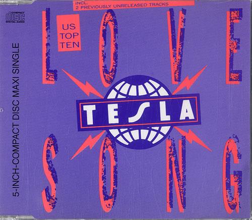 tesla love song german cd single  cd5    5 u0026quot    549406