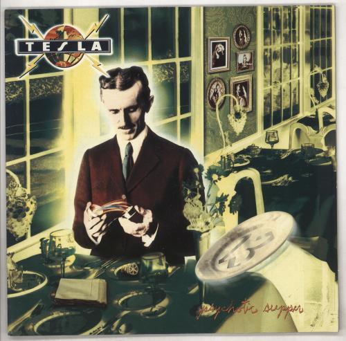 Tesla Psychotic Supper vinyl LP album (LP record) UK TESLPPS276426