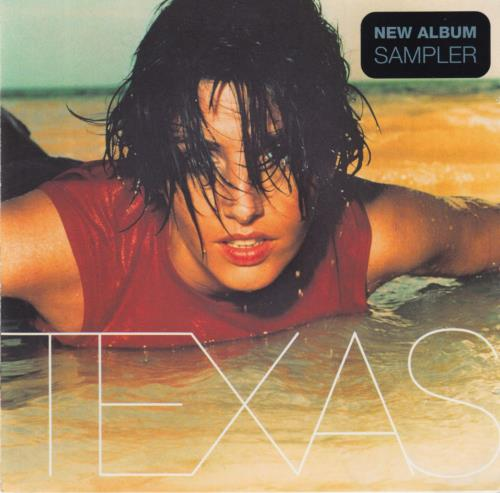 Texas New Album Sampler 2 CD album set (Double CD) Japanese TEX2CNE143363