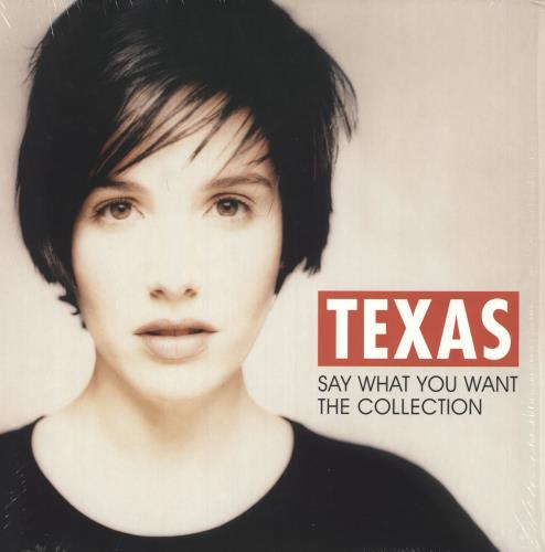 Texas y What You Want - The Collection vinyl LP album (LP record) UK TEXLPYW748981