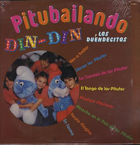"Thalia Pitubailando 12"" vinyl single (12 inch record / Maxi-single) Mexican T-I12PI387057"