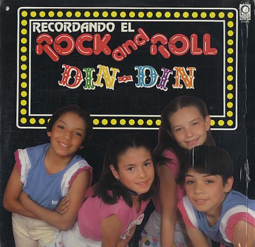 "Thalia Recordando El Rock And Roll 12"" vinyl single (12 inch record / Maxi-single) Mexican T-I12RE387050"